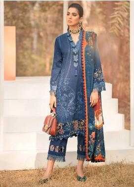 Seran Embroidered Khaddar Unstitched 3 Piece Suit SRN20W 03 ROYAL SPLENDOR - Winter Collection