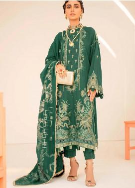 Seran Embroidered Khaddar Unstitched 3 Piece Suit SRN20W 04 ENCHANTING GRANDEUR - Winter Collection
