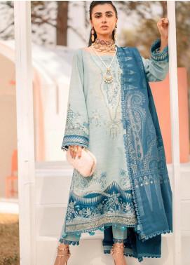 Seran Embroidered Khaddar Unstitched 3 Piece Suit SRN20W 07 SERENITY - Winter Collection