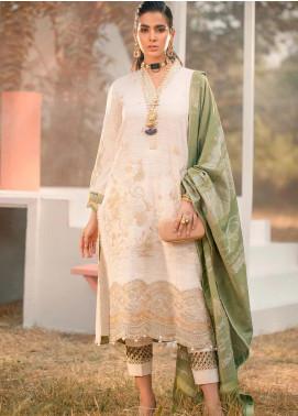 Seran Embroidered Khaddar Unstitched 3 Piece Suit SRN20W 08 FLORA & FAUNA - Winter Collection