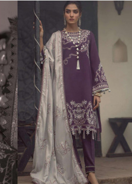 Madras by Serene Embroidered Khaddar Unstitched 3 Piece Suit SP20M SK-02 EYLUL - Winter Collection