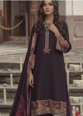 Madras by Serene Embroidered Khaddar Unstitched 3 Piece Suit SP20M SK-06 MEHTAB - Winter Collection