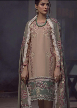 Madras by Serene Embroidered Khaddar Unstitched 3 Piece Suit SP20M SK-07 HAYAAT - Winter Collection