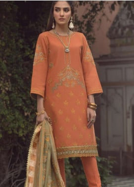 Madras by Serene Embroidered Khaddar Unstitched 3 Piece Suit SP20M SK-08 MEENA - Winter Collection