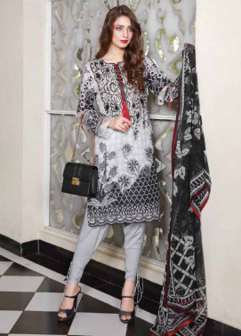 Sifona Embroidered Lawn Unstitched 3 Piece Suit SF17B 07