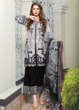 Sifona Embroidered Lawn Unstitched 3 Piece Suit SF17B 11