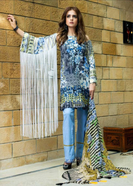 Sifona Embroidered Lawn Unstitched 3 Piece Suit SF17E2 05