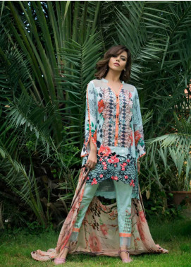Sifona Embroidered Lawn Unstitched 3 Piece Suit SF17E2 06