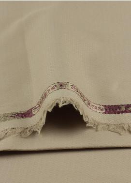 Shabbir Fabrics Plain Wash N Wear Unstitched Fabric SHBF-0004 Beige - Summer Collection