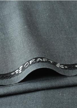 Shabbir Fabrics Plain Wash N Wear Unstitched Fabric SHBF-0029 Grey - Summer Collection