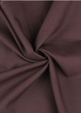 Shabbir Fabrics Plain Wash N Wear Unstitched Fabric SHBP-0027 Maroon - Summer Collection