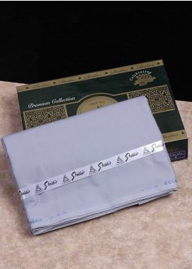 Shabbir Textile Plain Cotton Unstitched Fabric SCH-0053 Steel Grey - Summer Collection