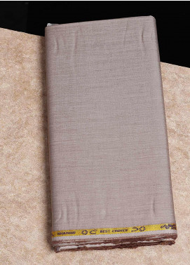 Shabbir Fabrics Plain Chambray Unstitched Fabric SHB-0055 MUSTARD - Summer Collection