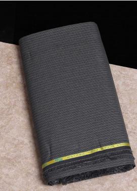 Shabbir Fabrics Plain Wash N Wear Unstitched Fabric SHBF-0031 Medium Grey - Summer Collection