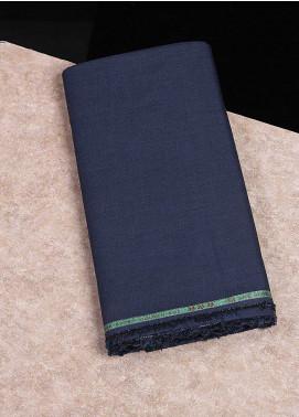 Shabbir Fabrics Plain Wash N Wear Unstitched Fabric SHBF-0037-Dark Blue - Summer Collection