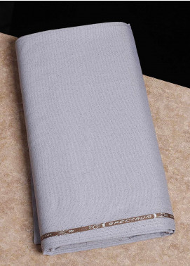 Shabbir Fabrics Plain Wash N Wear Unstitched Fabric SHBF-0039-Grey - Summer Collection