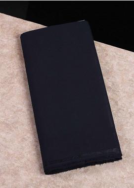 Shabbir Fabrics Plain Wash N Wear Unstitched Fabric SHBF-0045 Navy Blue - Summer Collection