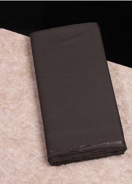 Shabbir Fabrics Plain Wash N Wear Unstitched Fabric SHBF-0048 Brown - Summer Collection