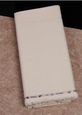 Shabbir Fabrics Plain Wash N Wear Unstitched Fabric SHBF-0049 Cream - Summer Collection