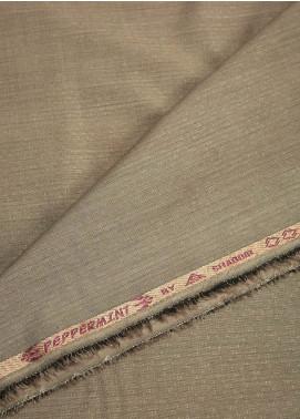 Shabbir Fabric Plain Wash N Wear Unstitched Fabric SHBF-0017 Beige - Summer Collection