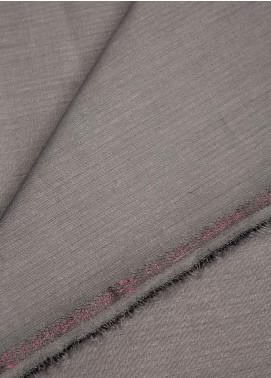 Shabbir Fabric Plain Wash N Wear Unstitched Fabric SHBF-0017 Dark Grey - Summer Collection
