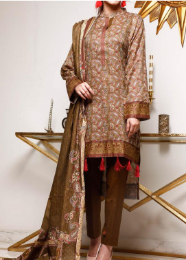 Shahkar by VS Textiles Printed Lawn Unstitched 3 Piece Suit VS20SK 3 - Summer Collection