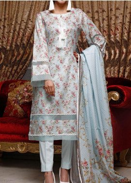 Shahkar by VS Textiles Printed Lawn Unstitched 3 Piece Suit VS20SK 6 - Summer Collection