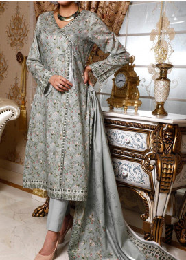 Shahkar by VS Textiles Printed Lawn Unstitched 3 Piece Suit VS20SK 9 - Summer Collection