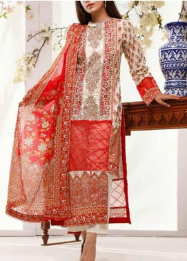 Shahkar by VS Textiles Embroidered Lawn Unstitched 3 Piece Suit VS20SH 20-02 - Spring / Summer Collection