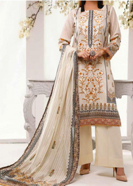 Shahkar by VS Textiles Embroidered Lawn Unstitched 3 Piece Suit VS20SH 20-03 - Spring / Summer Collection