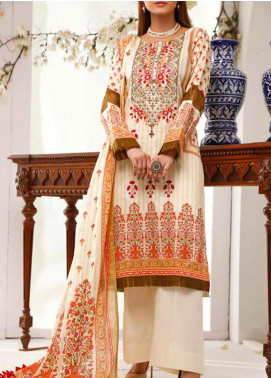 Shahkar by VS Textiles Embroidered Lawn Unstitched 3 Piece Suit VS20SH 20-04 - Spring / Summer Collection
