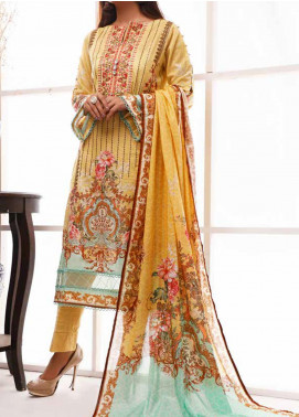 Shahkar by VS Textiles Embroidered Lawn Unstitched 3 Piece Suit VS20SH 20-06 - Spring / Summer Collection