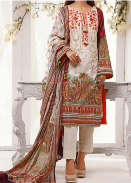 Shahkar by VS Textiles Embroidered Lawn Unstitched 3 Piece Suit VS20SH 20-07 - Spring / Summer Collection
