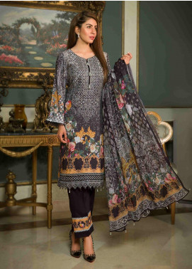 Shamira Embroidered Linen Unstitched 3 Piece Suit SHR19-L2 5 - Winter Collection