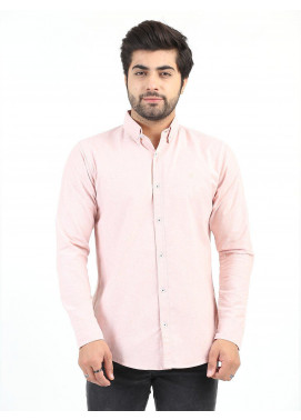 Shahzeb Saeed Cotton Casual Men Shirts - PINK CSW-210