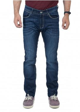 Shahzeb Saeed Denim Casual Jeans for Men - Blue DNM-97