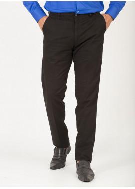 Shahzeb Saeed Cotton Dress Men Trousers - BLACK CTR-80