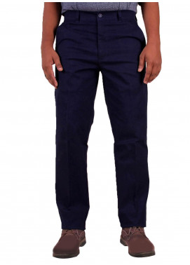 Shahzeb Saeed Cotton Dress Men Trousers - NAVY BLUE CTR-86