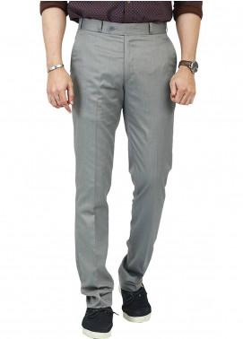 Shahzeb Saeed Wash N Wear Dress Men Trousers - Grey WTR-101