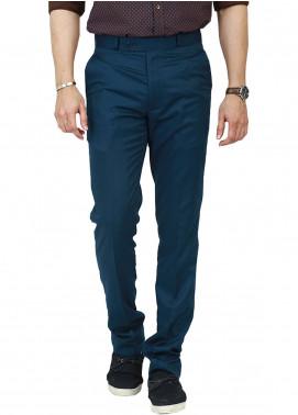 Shahzeb Saeed Wash N Wear Dress Trousers for Men - Green WTR-108