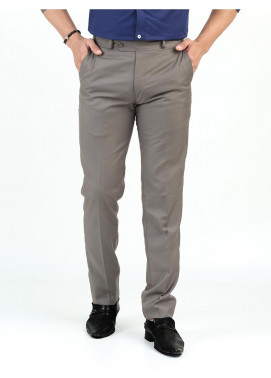Shahzeb Saeed Suiting Dress Men Trousers - LIGHT BROWN WTR-159
