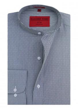 Shahzeb Saeed Cotton Formal Men Shirts - Grey RTW-1348