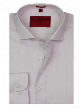 Shahzeb Saeed Cotton Formal Shirts for Men - LIGHT PINK RTW-1793