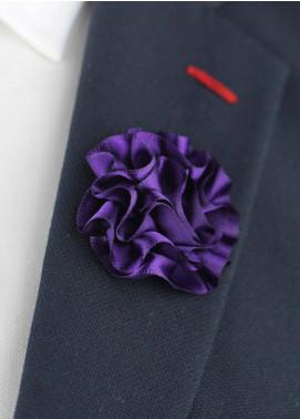 Shahzeb Saeed  Silk  Lapel Pin Flower LPF-036 - Casual Accessories