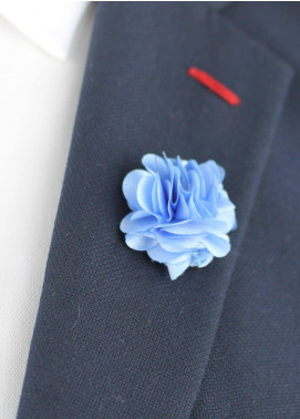 Shahzeb Saeed  Silk  Lapel Pin Flower LPF-037 - Casual Accessories