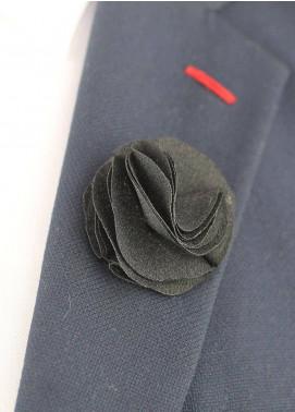 Shahzeb Saeed  Silk  Lapel Pin Flower LPF-038 - Casual Accessories