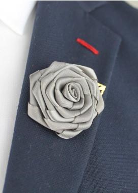 Shahzeb Saeed  Silk  Lapel Pin Flower LPF-040 - Casual Accessories