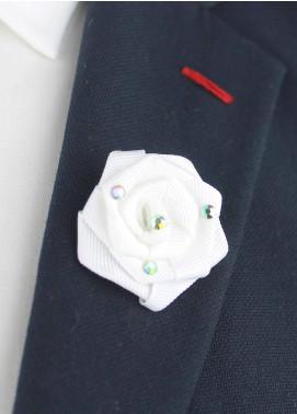 Shahzeb Saeed  Silk  Lapel Pin Flower LPF-042 - Casual Accessories