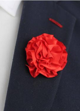 Shahzeb Saeed  Silk  Lapel Pin Flower LPF-046 - Casual Accessories