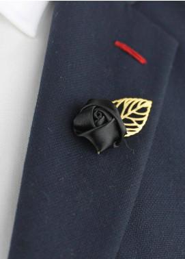 Shahzeb Saeed  Silk  Lapel Pin Flower LPF-047 - Casual Accessories